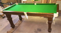 E-j Riley 5ft Oak Snooker Dining Table